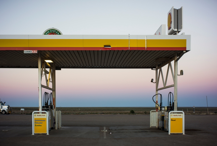 Petrol station, Pimba