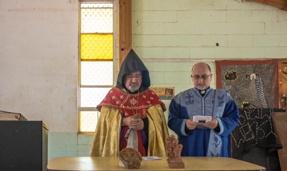 blessing the Khachkars